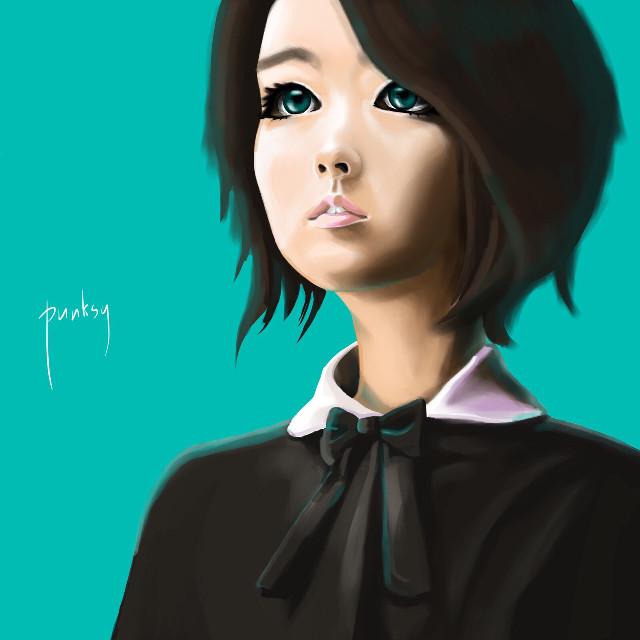 Park bo young. #original #manga #comics #fashion #koreangirl