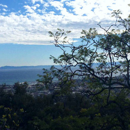 santabarbara view winter weathernature