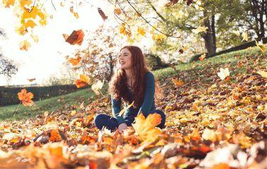 me girl selfportrait actionshot smile