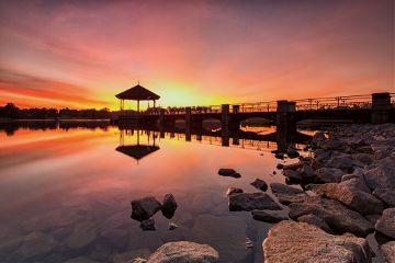 landscape sunset photography colorful