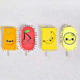 FreeToEdit fruits colors