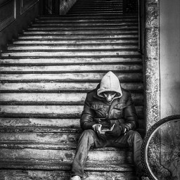 freetoedit blackandwhite people streetphotography modena