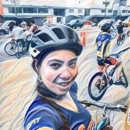 bikeride bikegirl lanena bluemar lachacha freetoedit