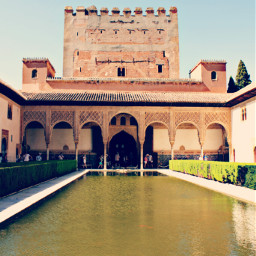 alhambra granada spain andalusia nature freetoedit