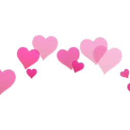 overlay hearts png freetoedit