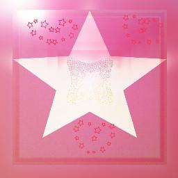 pink cute star blur border freetoedit