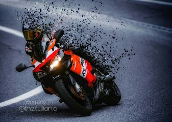 dispersion editedbyme colorsplash motorbike dispersion#