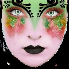 sticker face makeup fantasy tagmeidlovetoseeyourwork